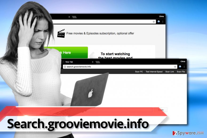 Search.grooviemovie.info virus