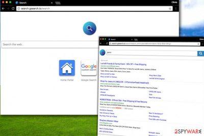 Search.gsearch.io attack