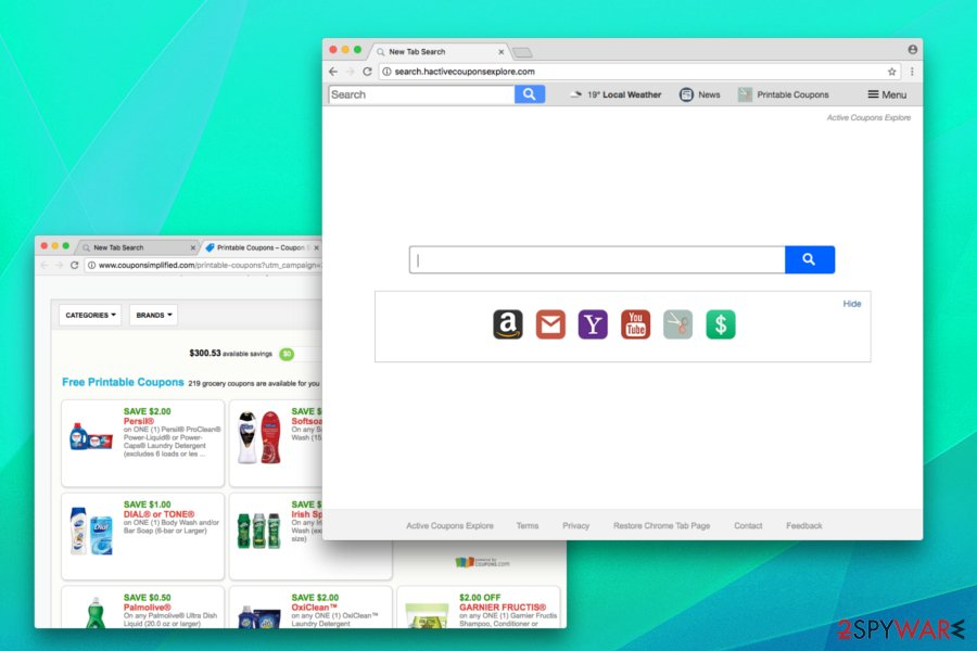 Active coupons explore attacks all web browsers