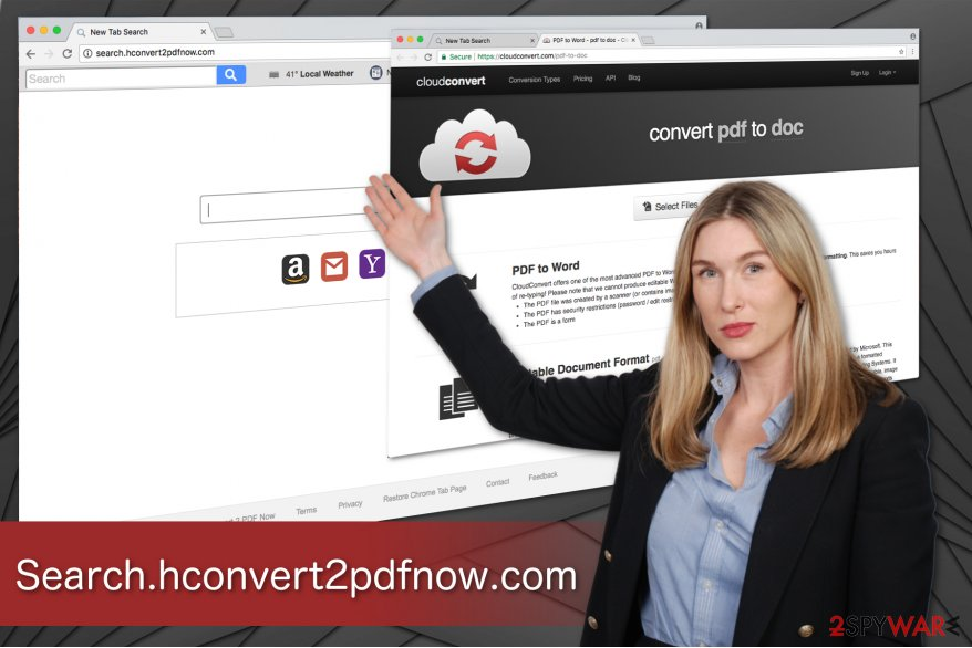 Search.hconvert2pdfnow.com virus illustration