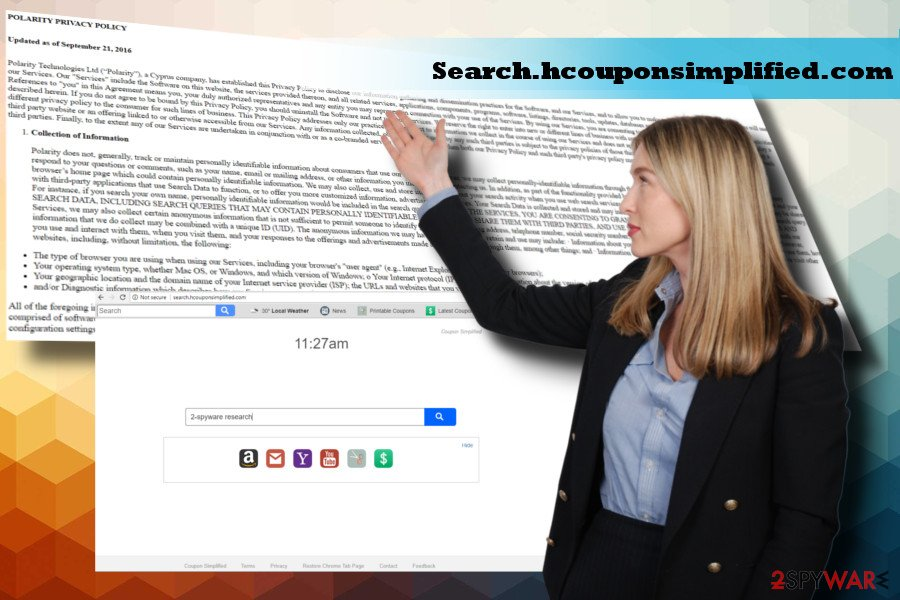 Search.hcouponsimplified.com virus corrupts browser's settings