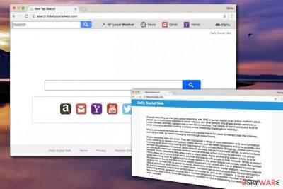Search.hdailysocialweb.com virus