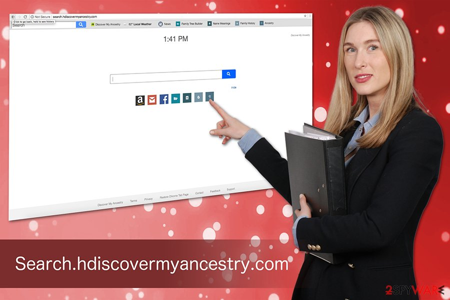 Search.hdiscovermyancestry.com virus