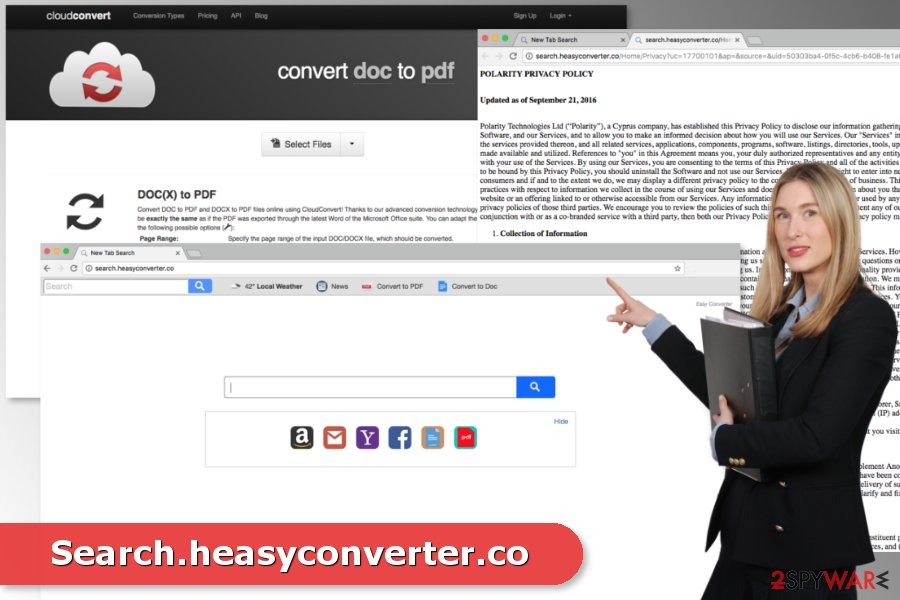 The image of Search.heasyconverter.co virus