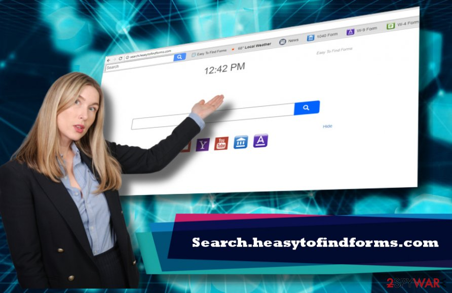 Search.heasytofindforms.com virus illustrated