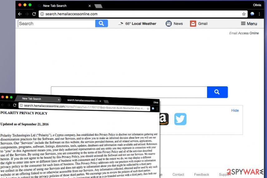 Search.hemailaccessonline.com virus