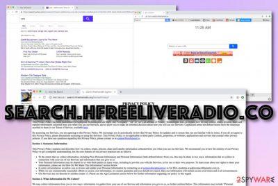 Free Live Radio browser hijacker