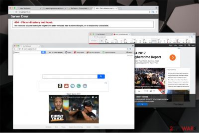 The image of Search.hgetsports.net hijack