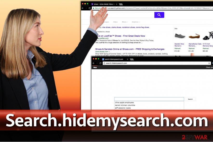 Search.hidemysearch.com hijacker