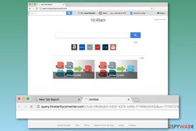 Search.hinstantlyconverter.com homepage