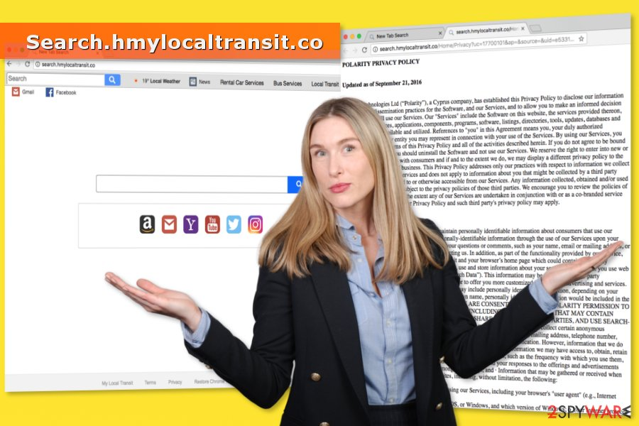 Picture of Search.hmylocaltransit.co virus