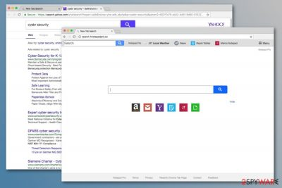 Search.hnotepadpro.co search engine