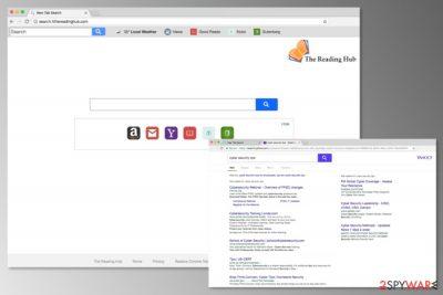 Screenshot of Search.hthereadinghub.com