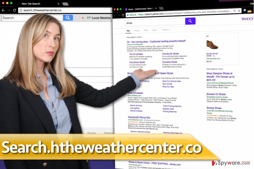 Search.htheweathercenter.co redirect virus
