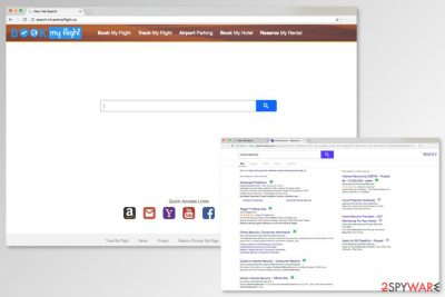 Screenshot of Search.htrackmyflight.co