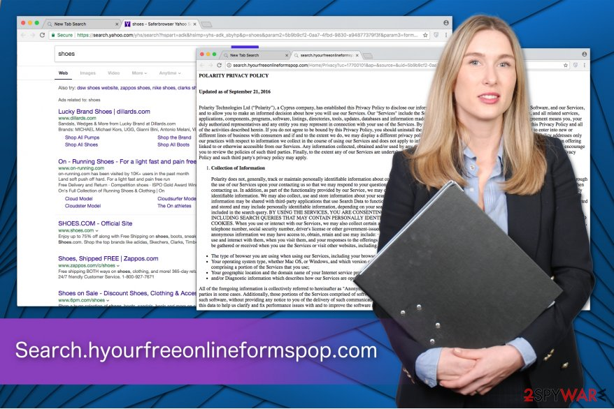 Search.hyourfreeonlineformspop.com privacy policy