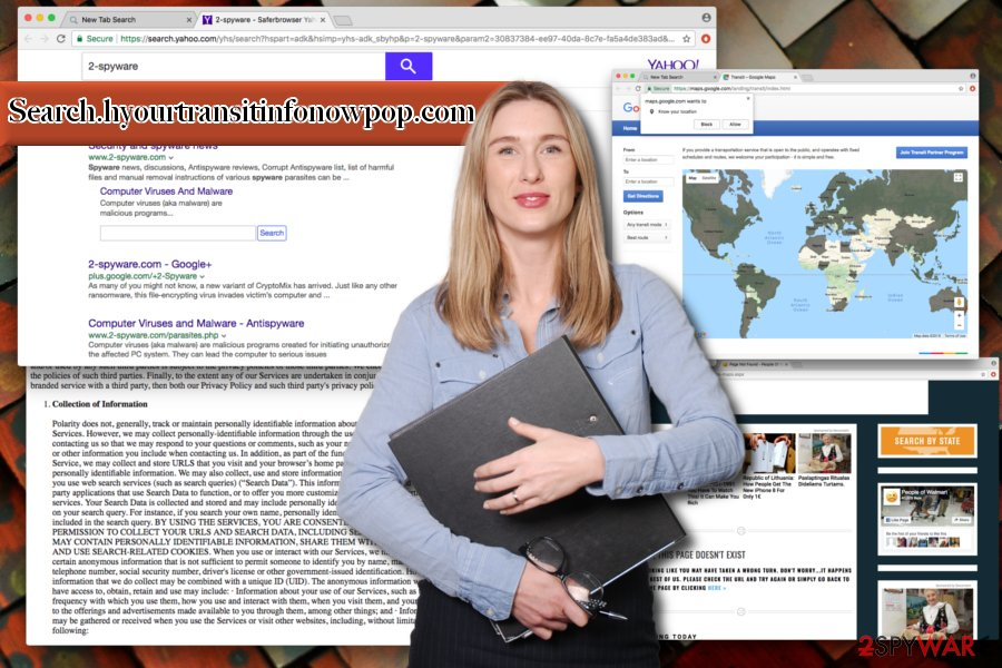 Image of Search.hyourtransitinfonowpop.com virus