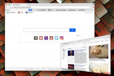 Search.hyourtransitinfonowpop.com hijacker