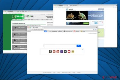 The image of Search.yourvidconverter.com virus