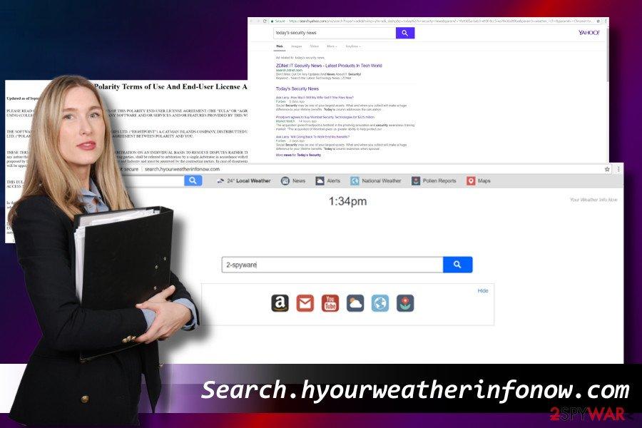 Search.hyourweatherinfonow.com redirect virus