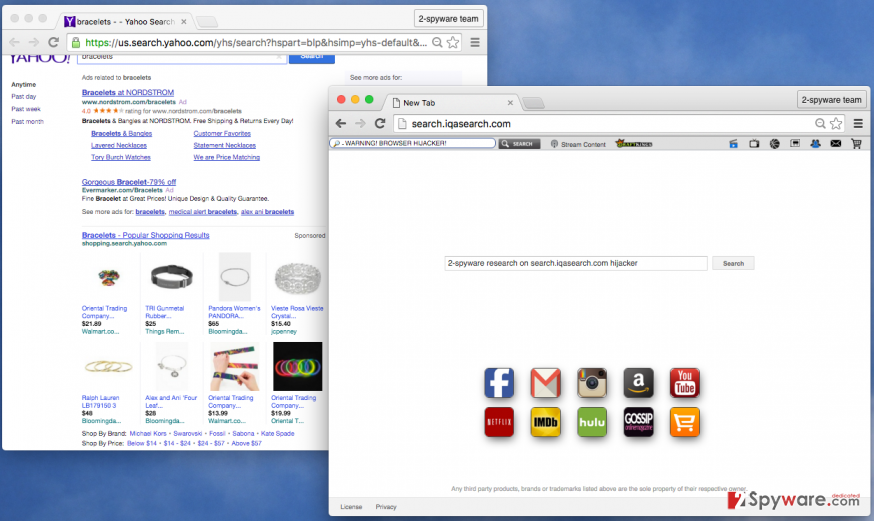 Search.iqasearch.com virus screenshot
