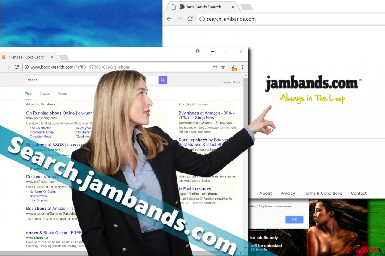 Search.jambands.com hijack