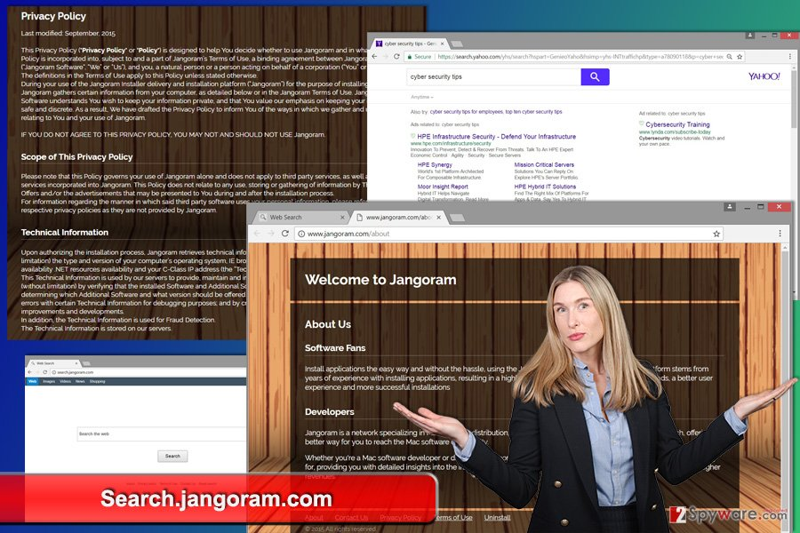The image of Search.jangoram.com virus