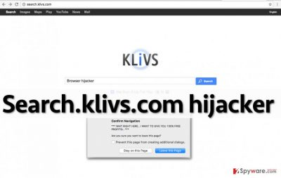 Image showing Search.klivs.com search engine