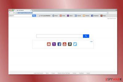 Screenshot of Search.loginemailaccounts.com