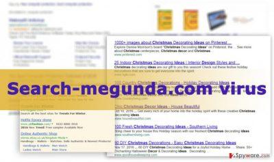 The image of Search-megunda.com virus