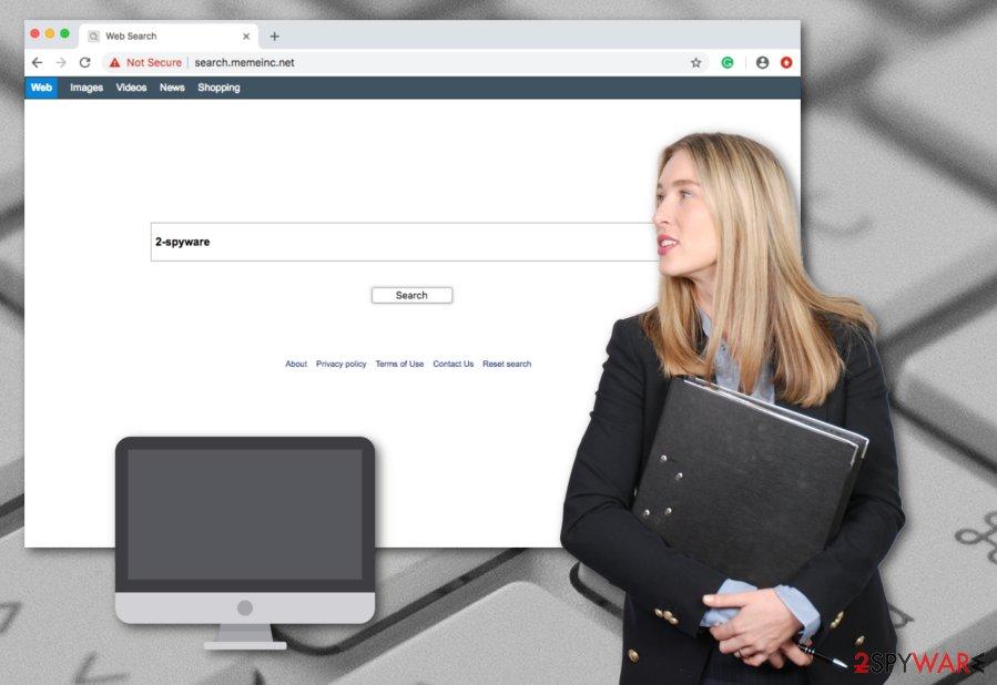 Search.memeinc.net potentially unwanted program