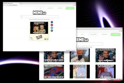 Search.memetab.com image