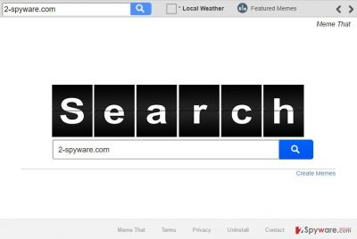 Image of the Search.memethat.co hijacker