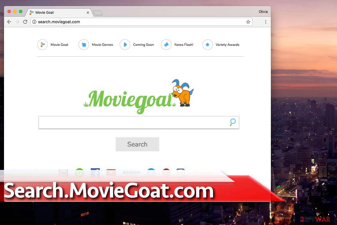 Search.MovieGoat.com virus