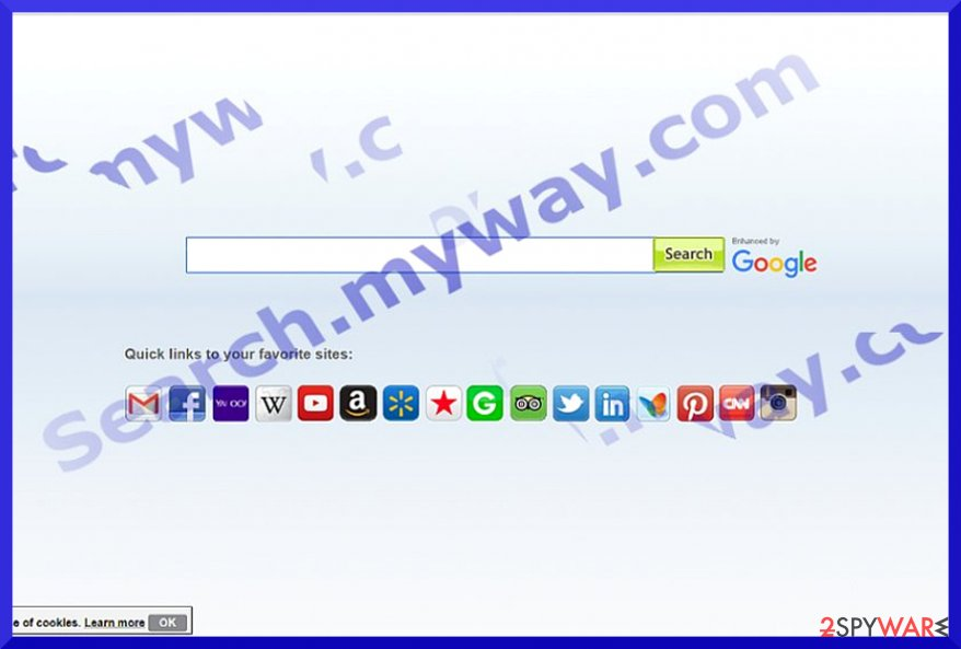 Search.myway.com example