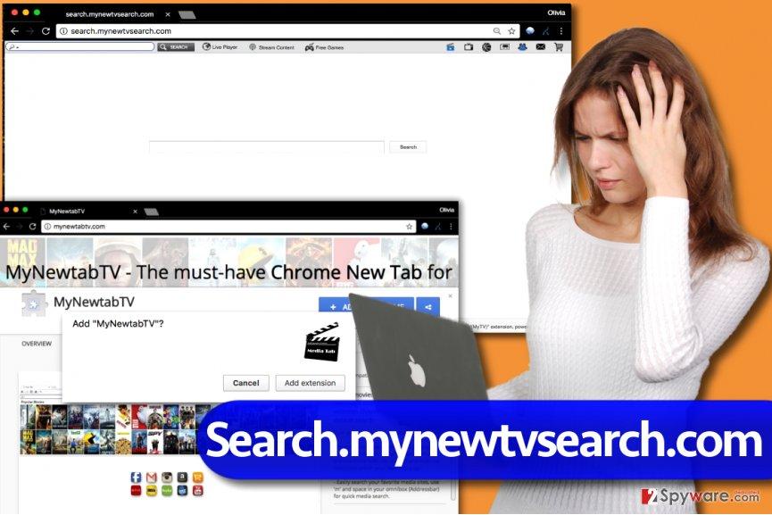 Search.mynewtvsearch.com virus