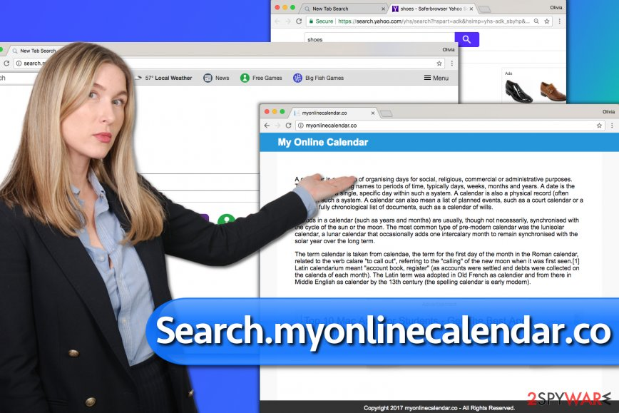 Search.myonlinecalendar.co hijack