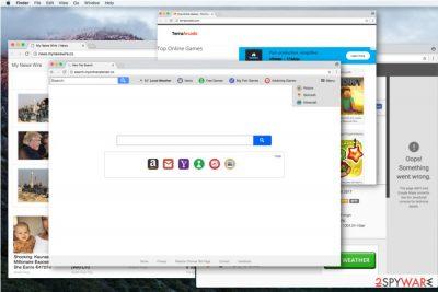Search.myonlinecalendar.co virus
