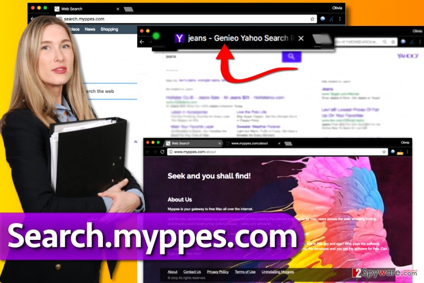 Search.myppes.com redirect virus