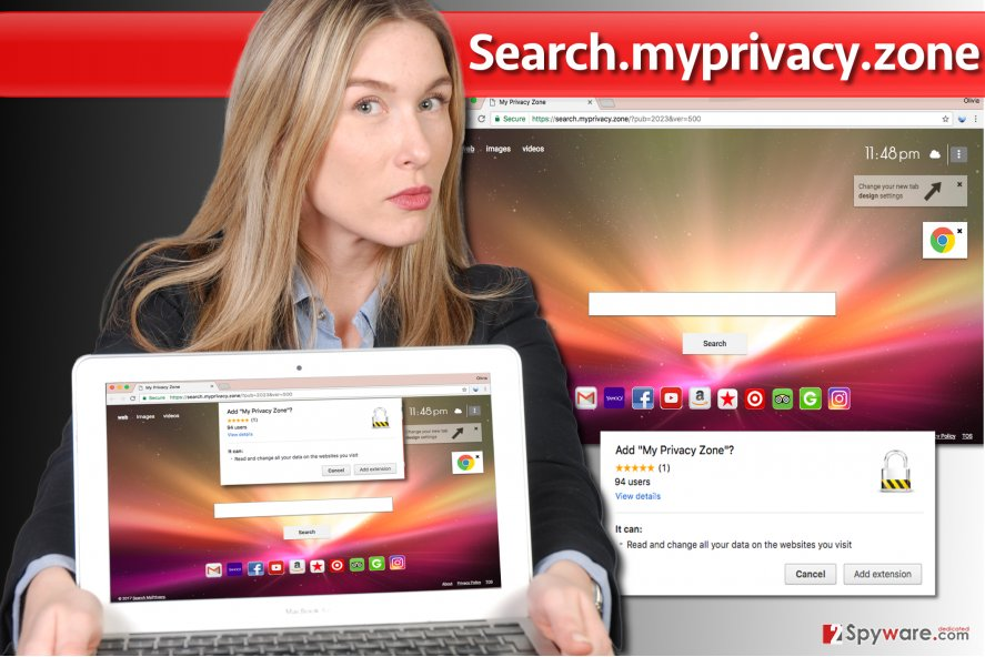 Search.myprivacy.zone browser hijacker