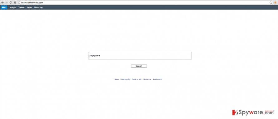Search.olivernetko.com website screenshot