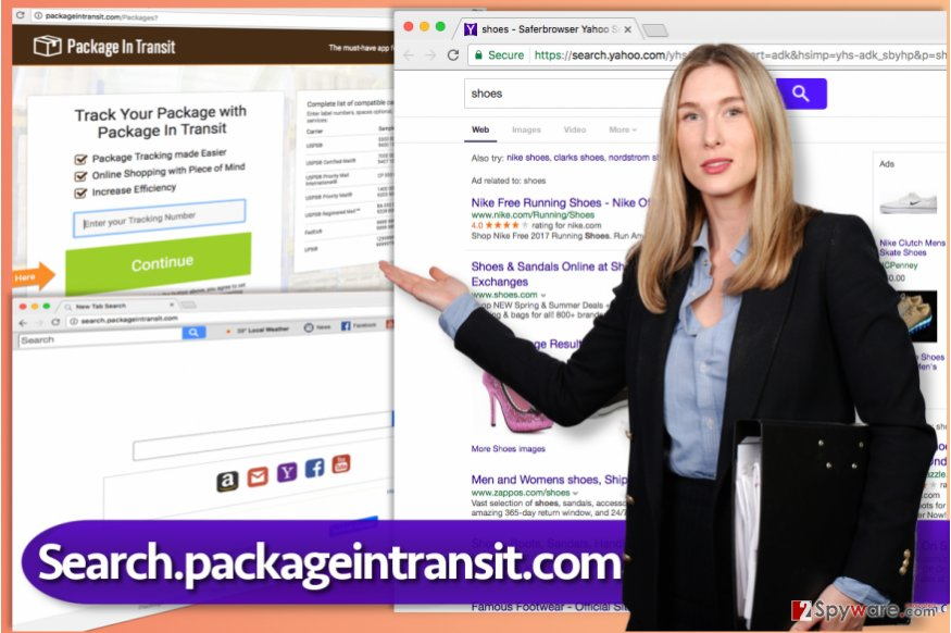 Search.packageintransit.com virus