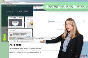 Search.pdftoolkit.net virus