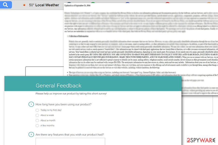 The image showing Search.pe-cmf.com feedback page
