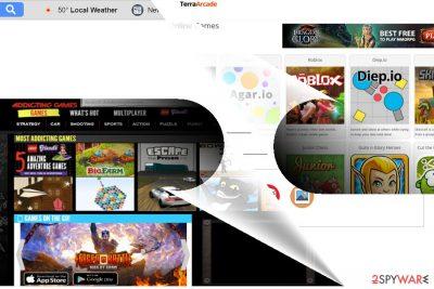 The screenshot of Search.pe-cmf.com