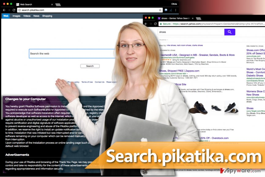 Search.pikatika.com virus