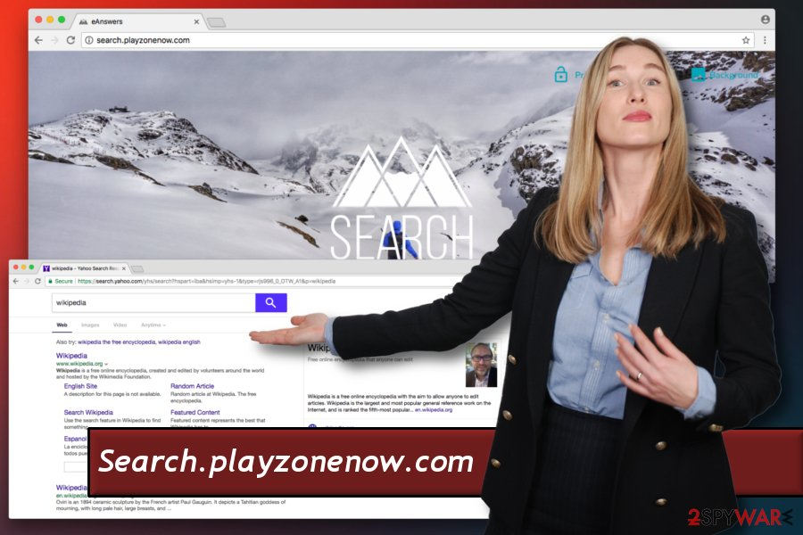 Search.playzonenow.com hijack