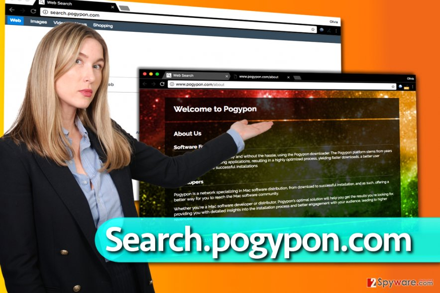 Search.pogypon.com redirect virus
