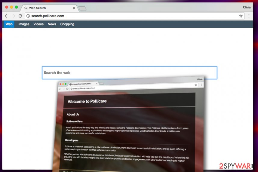 Search.pollicare.com virus
