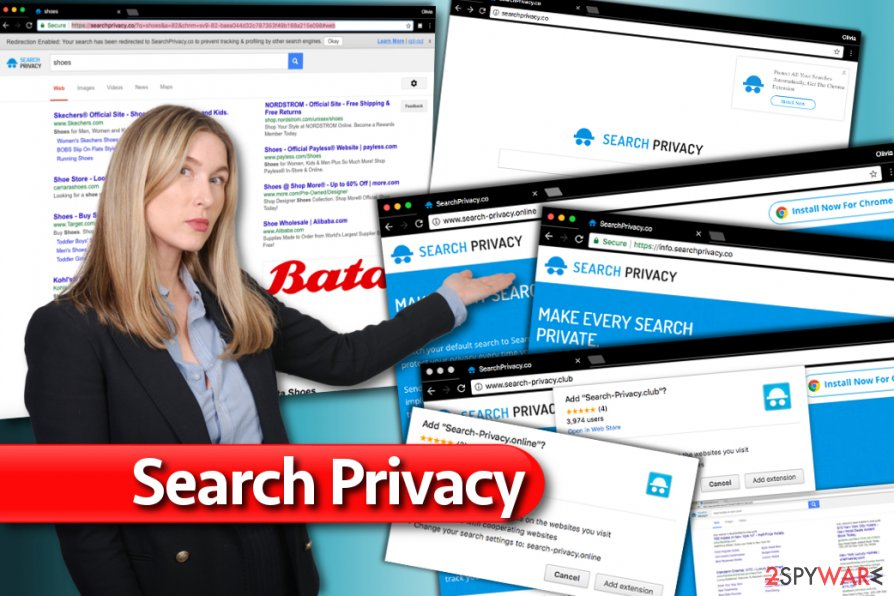 Search-Privacy.co redirect virus